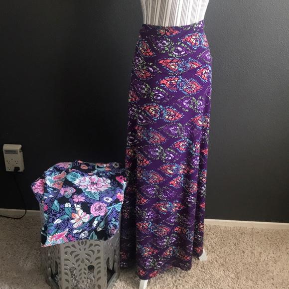LuLaRoe Dresses & Skirts - 🔥🔥1 hr SALE -  LuLaRoe Skirt & Leggings